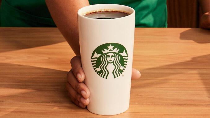 Starbucks Offers Free Coffee On September 29, 2021