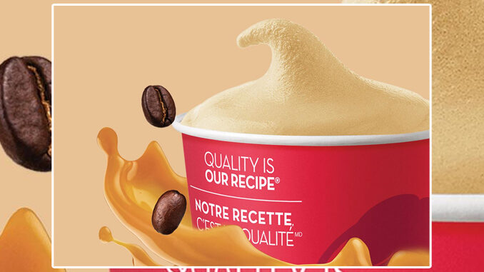 Wendy's Adds New Caramel Latte Frosty In Canada
