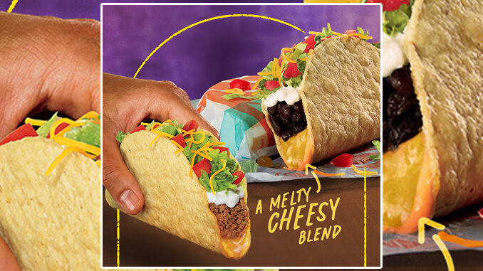 Taco Bell Launches New Cantina Crispy Melt Taco Nationwide